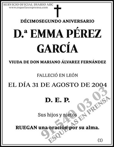 Emma Pérez García